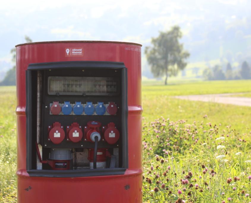 Wohnmobil Stellplatz Allmend Rheintal in Altstätten SG im St. Galler Rheintal